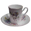 Royal Grafton Floral Demitasse Cup & Saucer