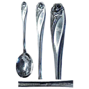 Daffodil Pattern 1847 Rogers Silverplate Sugar Spoon