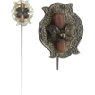 Antique 14K Gold & Coral Stickpin