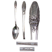 1847 Rogers First Love Pattern Set of (6 ) 6 1/8&quot; Teaspoons