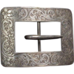 Large Fancy Sterling Belt Buckle