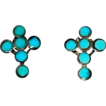Mint Condition Turquoise & Sterling Earrings