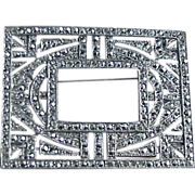 Marcasite Pin/Frame