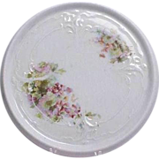 Floral Porcelain Germany Tea Tile