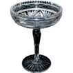 "American Brilliant Period Cut Glass Compote signed ""Clark"""