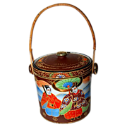 Japanese Biscuit Jar/Cracker Jar