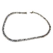 Flashy & Diamond like Kramer Rhinestone Necklace