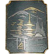Siamese Pagoda Pin