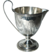 1810 George III English Sterling Georgian Cream Footed Jug