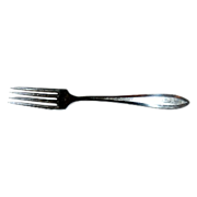 "Patrician Community 1914 Silverplate 7 3/4""  2 Dinner Forks"