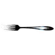 "Patrician Community 1914 Silverplate 7 3/4""  Pair of Dinner Fork"