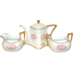 RS Tillowitz Germany Floral Decorated Tea set