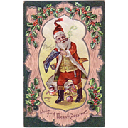 Christmas Postcard  &quot;Santa&quot;