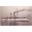 RPPC Postcard with Photographic Image of &quot;USS Cincinnati&quot;