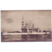 RPPC Postcard with Photographic Image of &quot;USS Indiana&quot;