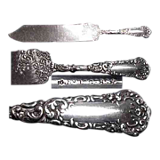 Brides Cake Knife Yale Pattern 1894