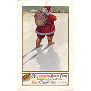 Christmas Postcard &quot; Santa &quot;