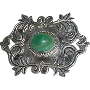 Large Mexican Silver Pin