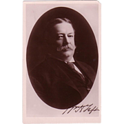 RPPC of &quot; Ex President Taft &quot;