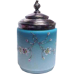 Wonderful Mt Washington Cased Glass Cracker Jar/Biscuit Barrel