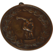 Bronze Olympic Discus Medallion