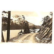 RPPC ( Real Photograph Post Card ) &quot;Fyac Lake Highway Cordova, Alaska&quot;