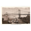 "RPPC ""The New Manhattan Bridge New York""."