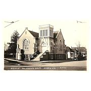 RPPC &quot;Main St. M.E. Church Medford Ore&quot;