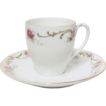 Delicate Bavarian Demitasse Cup & Saucer Set