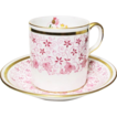 Sweet Little Raspberry Demitasse Cup & Saucer Set