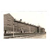 Postcard &quot;WWII Barracks Fort Lewis Washington&quot;