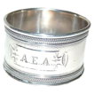 Coin Silver Heavy Napkin Ring