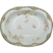 French Haviland Porcelain Open Vegetable Bowl with Dogwood Blooms