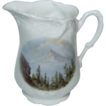 "German Souvenir Pitcher of ""Mt. Hood Portland Oregon """