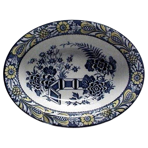 Wood & Sons Wincanton Pattern Vegetable serving Bowl