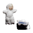 Antique German Snowbaby, signed and damage free