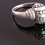 SALE Vintage Sterling Silver Ring