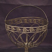 SALE Antique Silver Basket, Berlin, Germany Late XVIII c., Early XIX c.