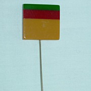 Laminated Bakelite Hat Pin / Stick Pin