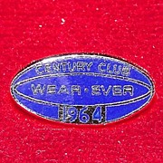 Sterling Silver 1964 Century Club Wear-Ever Pin
