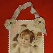 Early French Postcard Bonne Anne Happy New Year with BeBe