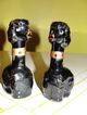 Long Necked Black Poodles Salt & pepper Shakers