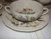 Spode &quot;Gainsborough&quot; (Marlborough) Cream Soup and Saucer
