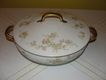 "Limoges ""Florale"" Round Covered Vegetable Bowl"