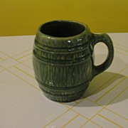 McCoy Green Barrel Mug