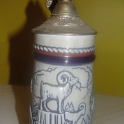 Avon Wildlife Stein with Lid