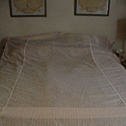 Pink Gossamer Twin Bedspread