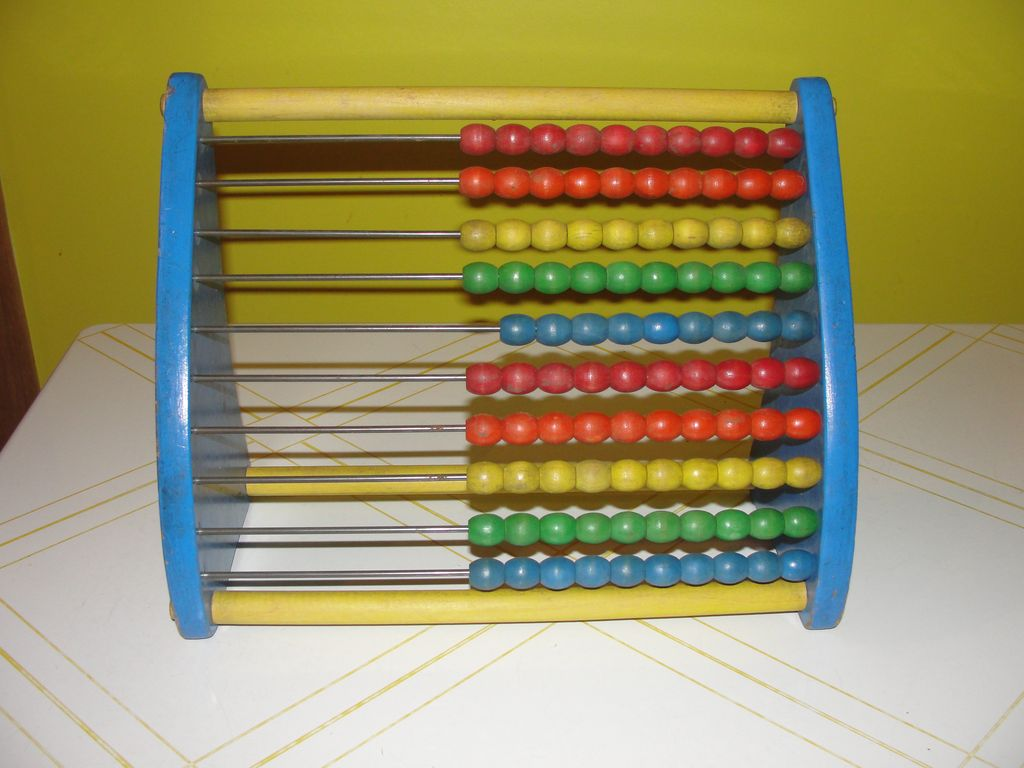 Playschool Wood Abacus