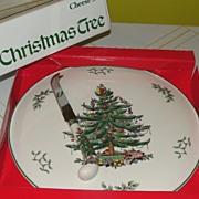 Spode ''Christmas tree'' Cheese Set