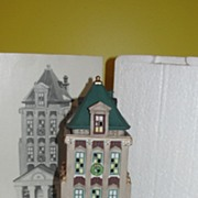 Dept 56 Christmas in The City Brokerage House #5881-5